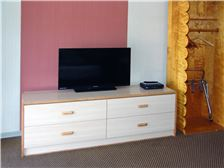 Hotel Name Room - TV and Luggage Storage